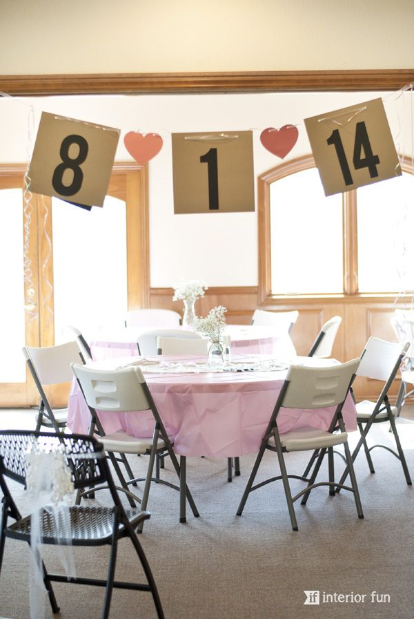 Easy Wedding Shower Decorations
