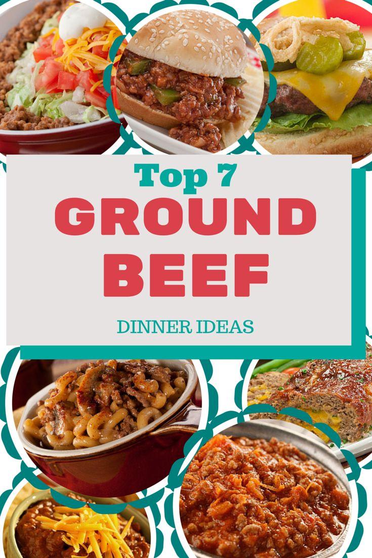 Dinner Ideas Using Hamburger