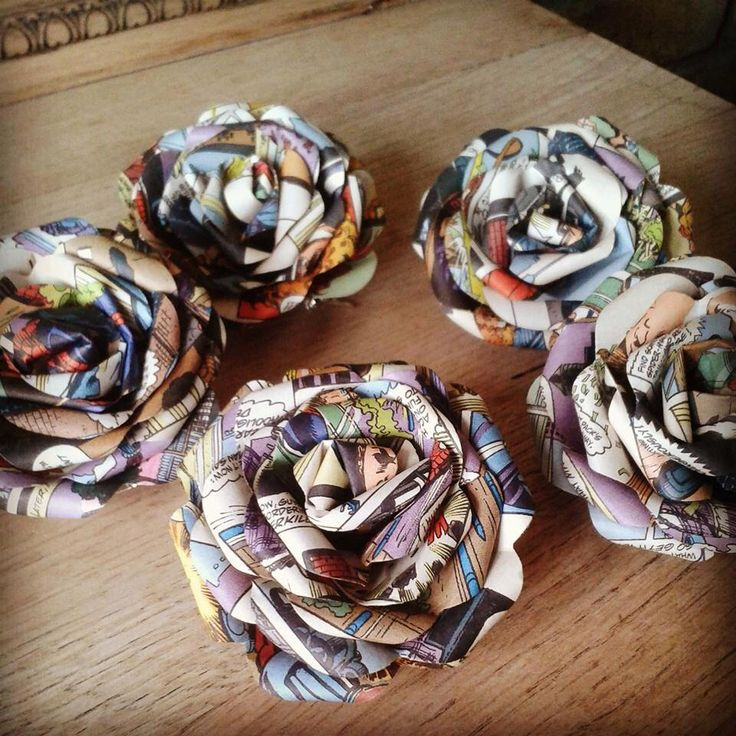 Paper Buttonholes Bouquet Flowers Marvel Of Dc Comic Origami Made In The Uk For Wedding Bridal