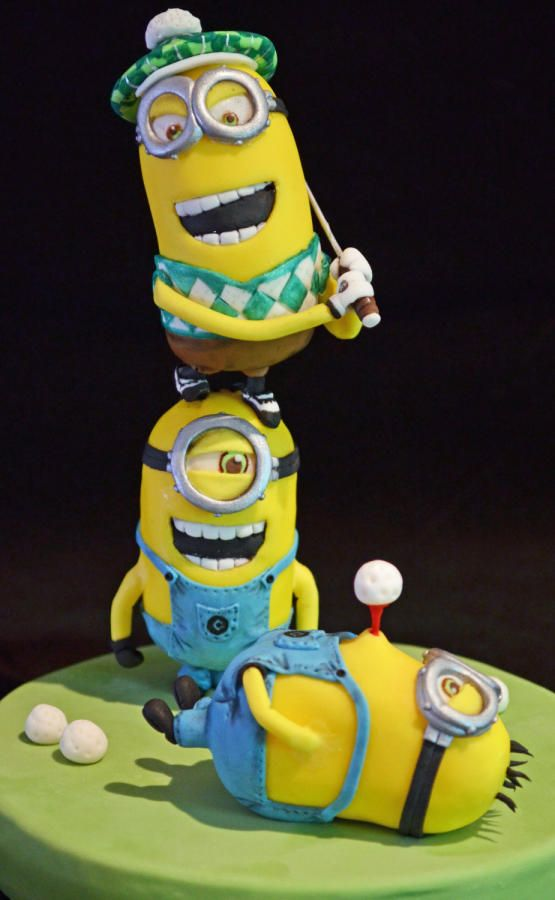 184 Best Images About Minion Cake On Pinterest Sweet