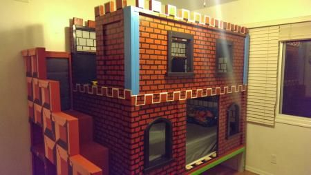 Mario Castle Bunk Do It Yourself Home Projects From Ana