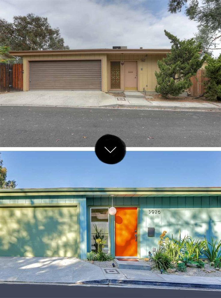 Before Amp After A Mid Century Post And Beam Home In Mt