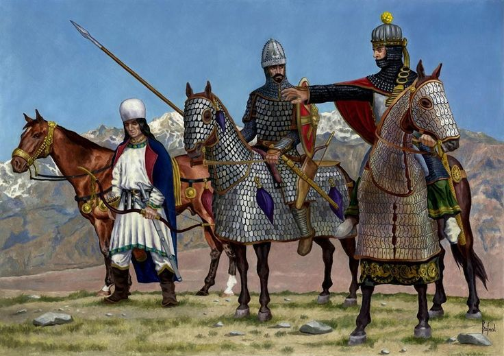 Horse Parthian Warriors