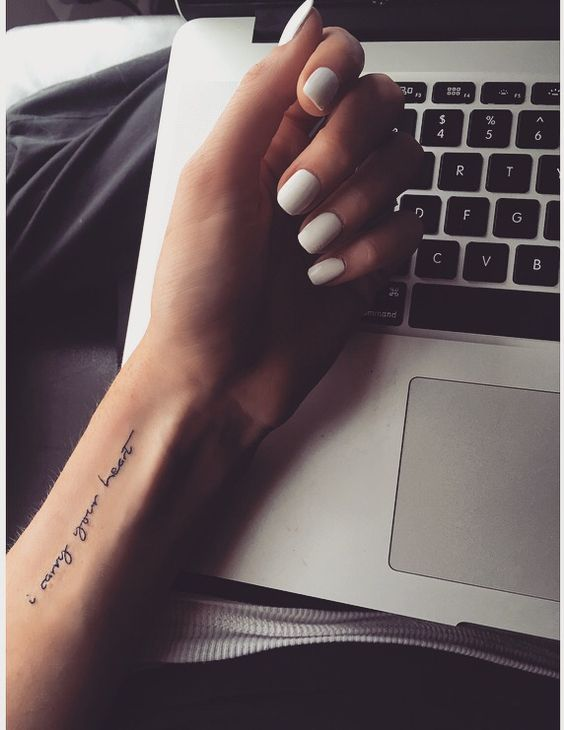Meaningful Quotes About Love Tattoos