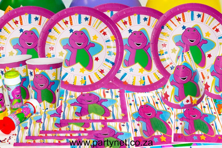 Barney Party Supplies Ideas Accessories Decorations