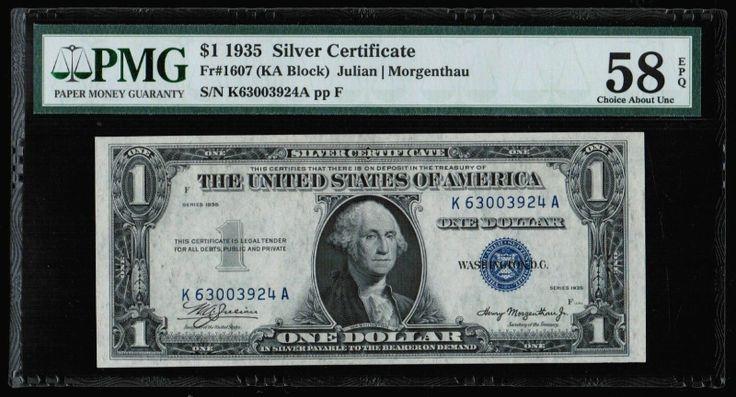 1935 Silver Certificate F Seriesc43322421j
