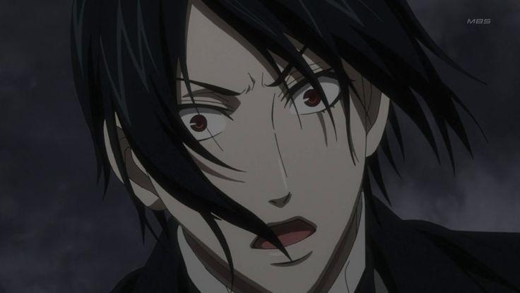 Kuroshitsuji Sebastian Angry