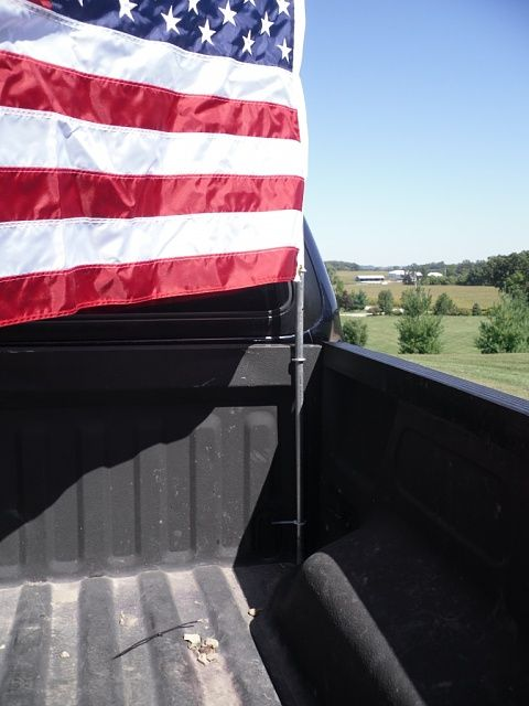 Truck Bed Flag Flag Mount Ideas Page 2 Ford F150
