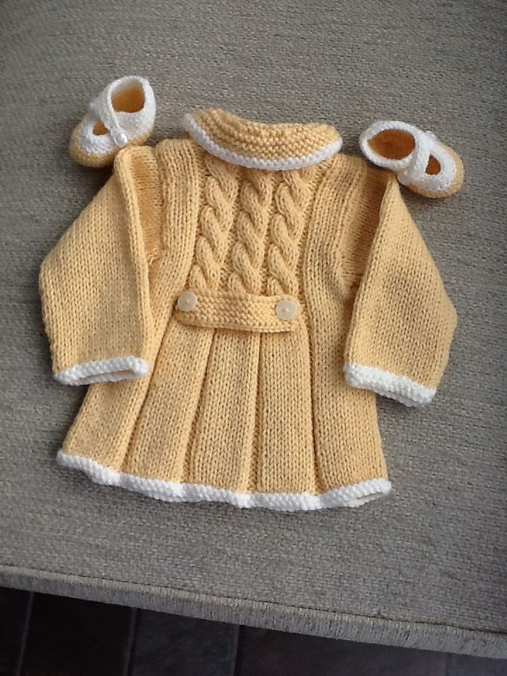 Pattern Toddlers And Dress Coat