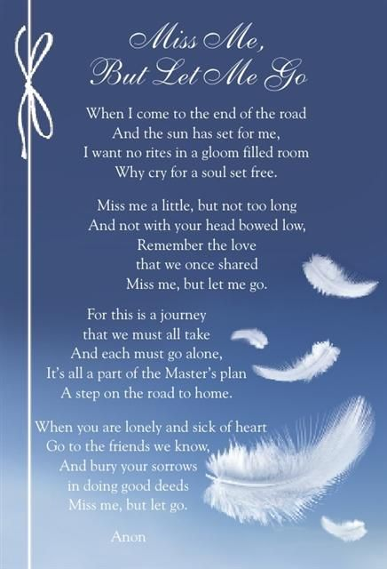 70 best images about Funeral Poems on Pinterest | More ...