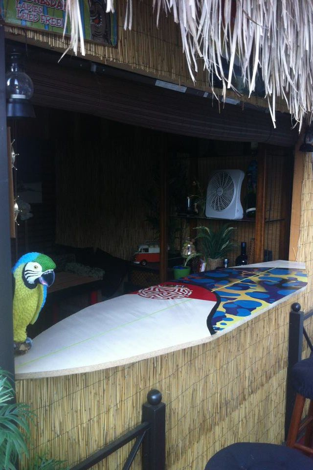 Diy Backyard Bar Deck