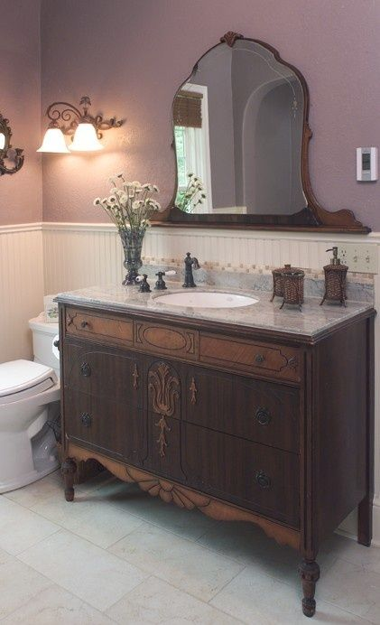 Dressers Made Bathroom Vanities