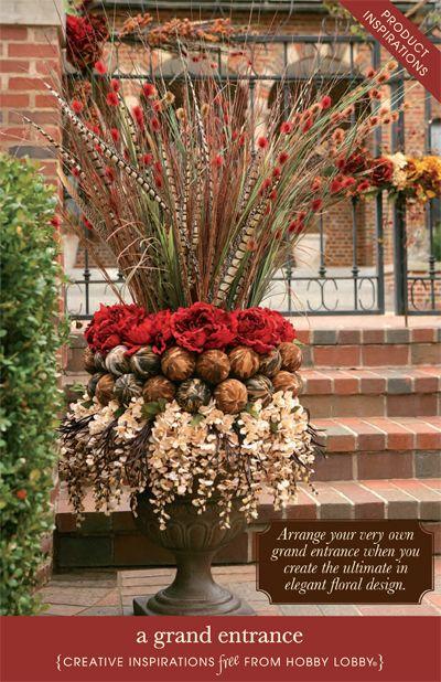 Ideas Front Porch Planters