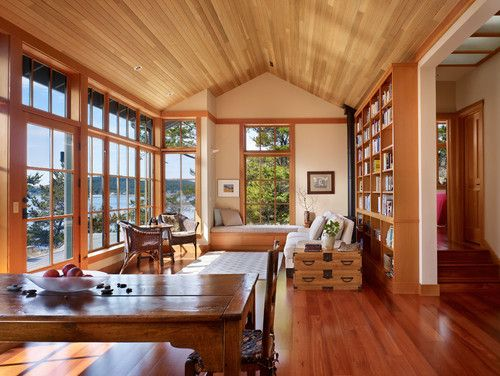 Window Treatments Log Cabin Homes