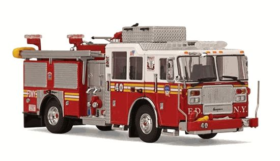 Yonkers Fire Department Fire Truck