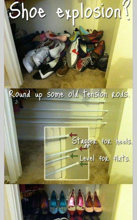 Ideas Diy Bedroom Closet Organization