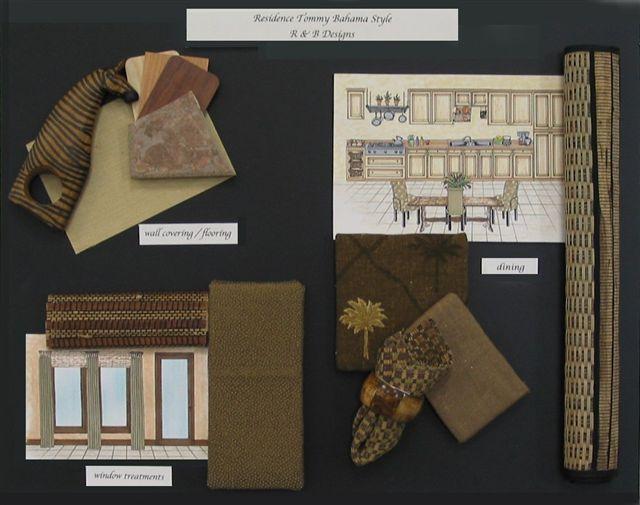 Furniture Design Presentation Board