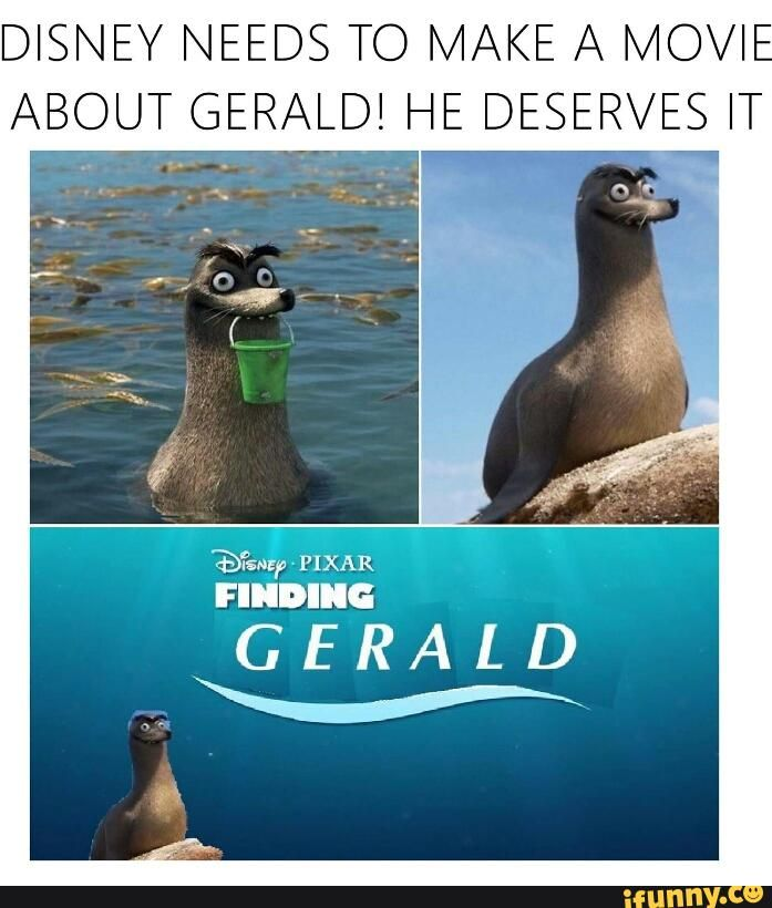 Finding Gerald Dory Memes