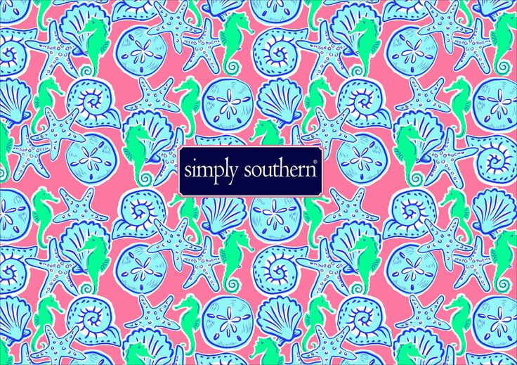 Preppy Background Southern