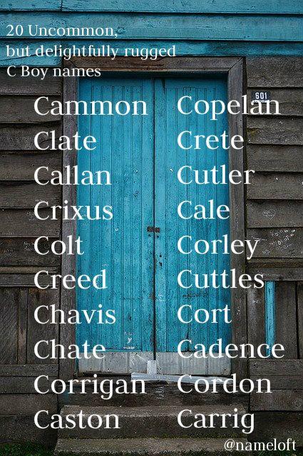 Baby Boy Names List Cute