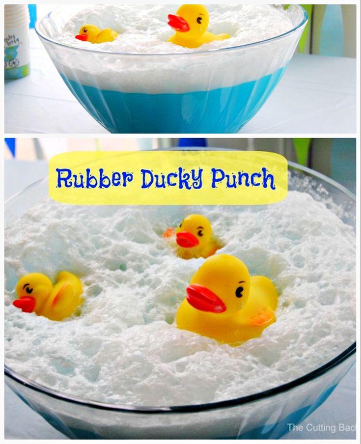 Baby Recipe Punch Yellow Shower