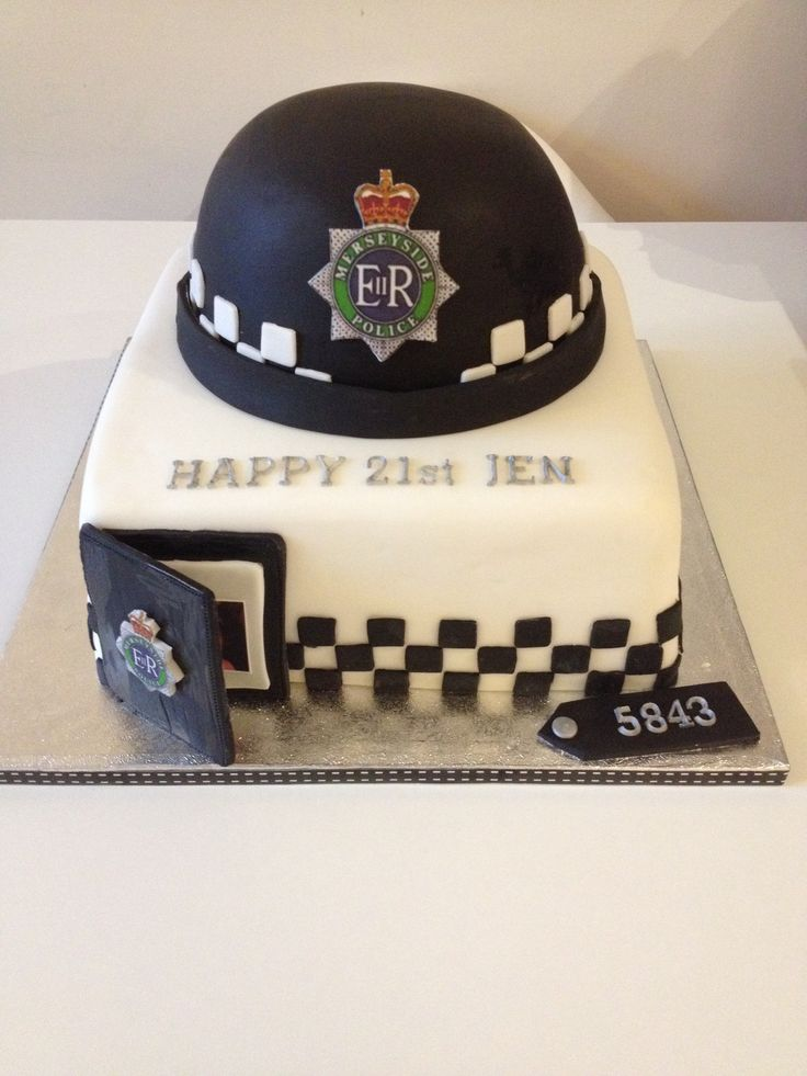 Top 25 Ideas About Police Cake On Pinterest Fondant