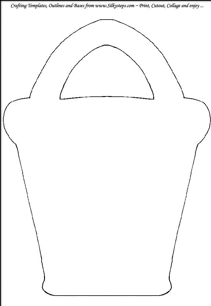 Bucket Pattern Printable Sand