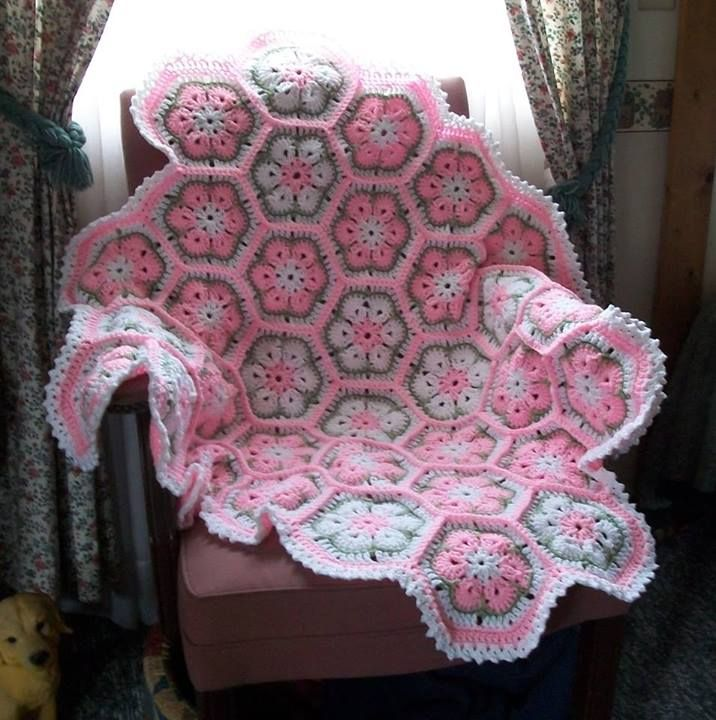 Roseanne Crochet Patterns Blanket