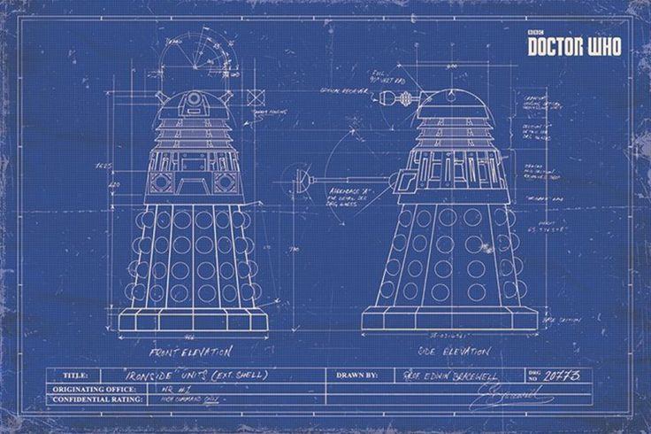 Life Size Tardis Blueprints