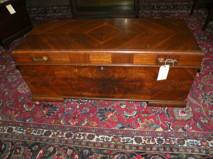 Antique Cedar Hope Chest