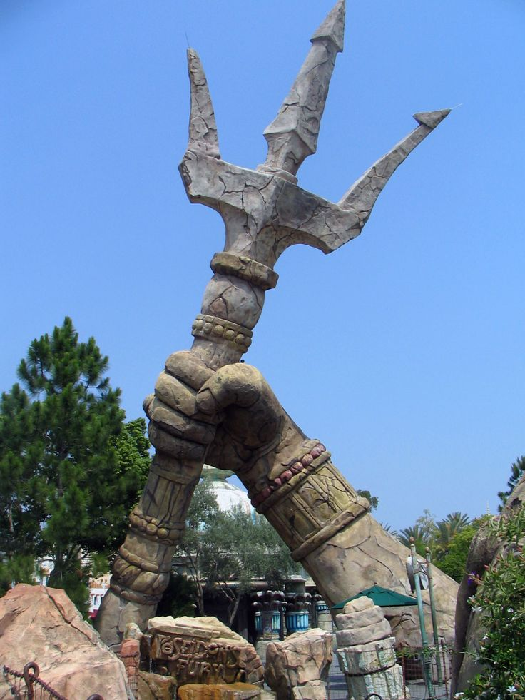 King And King Neptune Poseidon Trident