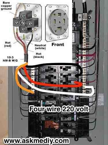 4 Generator Plug Hook Wire
