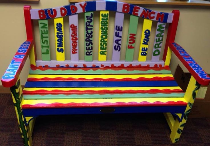 17 Best Images About Buddy Benches On Pinterest