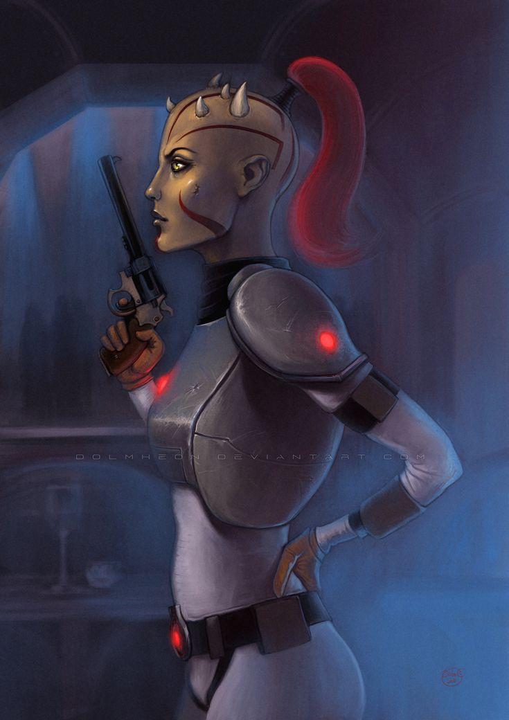Rebellion Characters Girl Star Wars