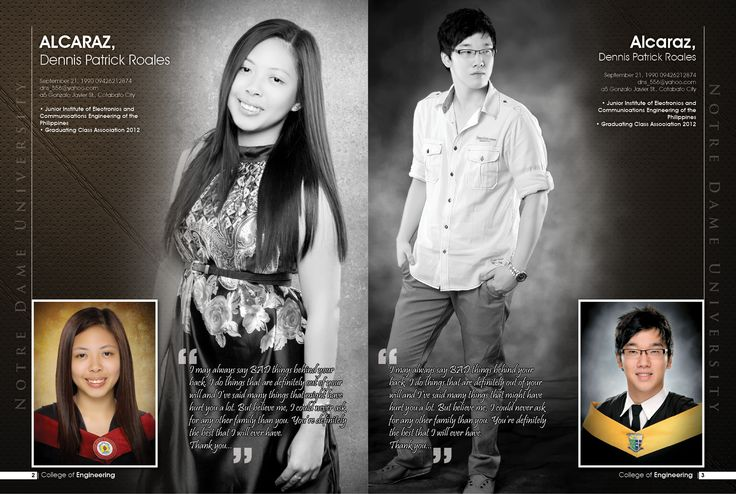Layouts Sample Yearbook
