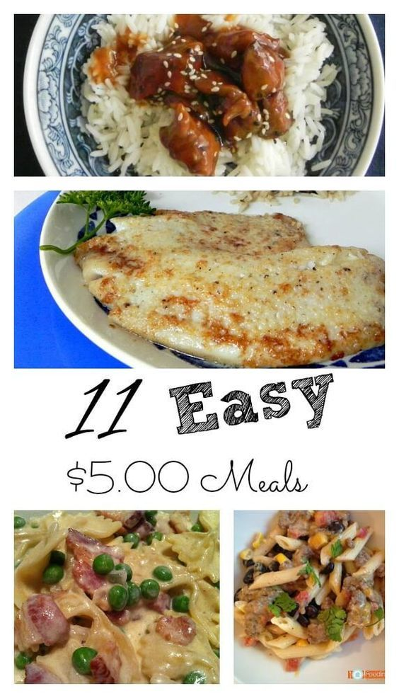 Cheap Easy 2 And Dinners