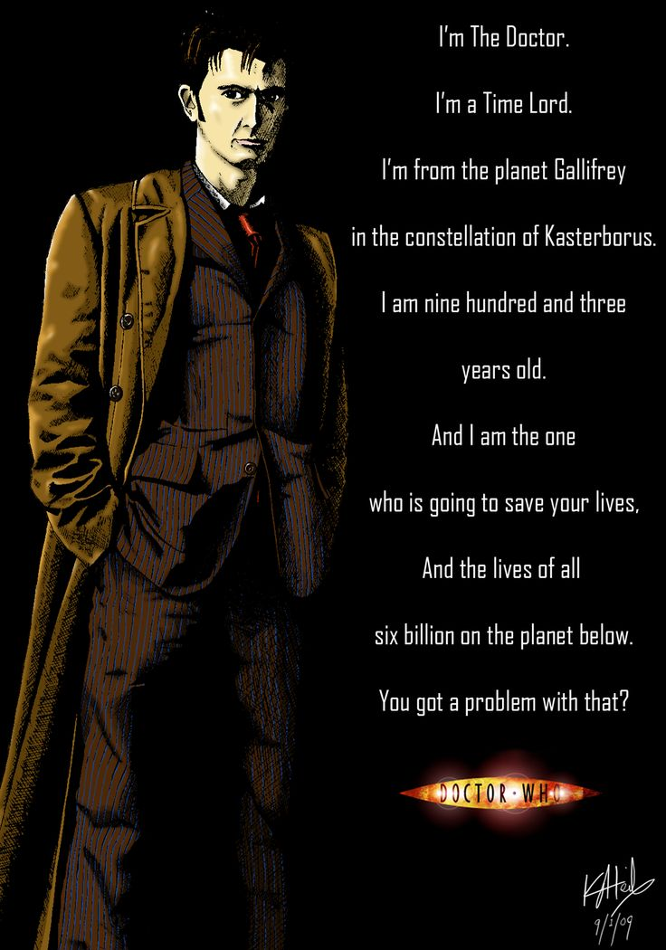 10th Doctor Who Famous Quotes