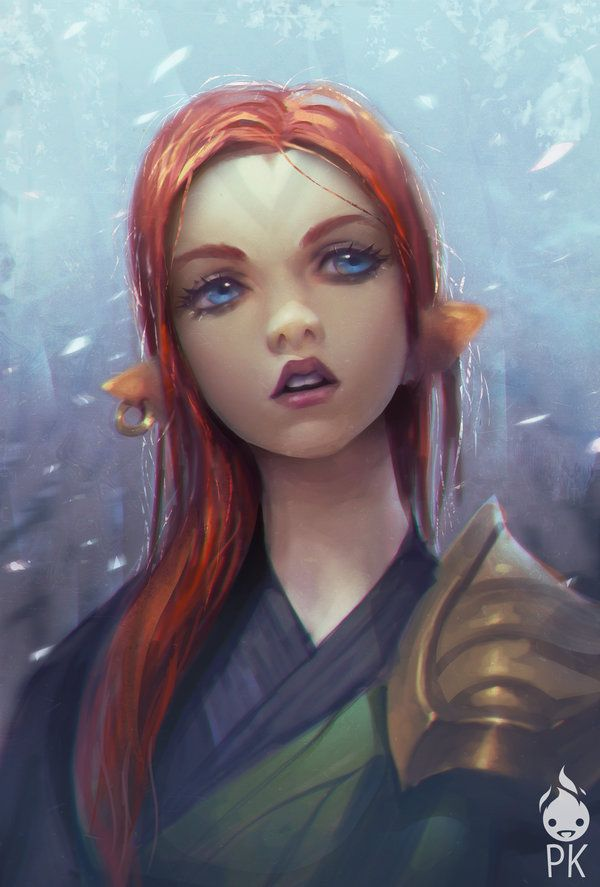 Female Red Ranger Haired