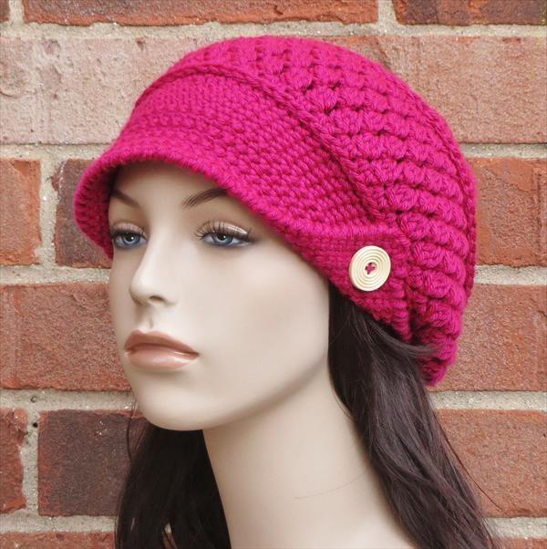 Beanie Cap Crochet Pattern