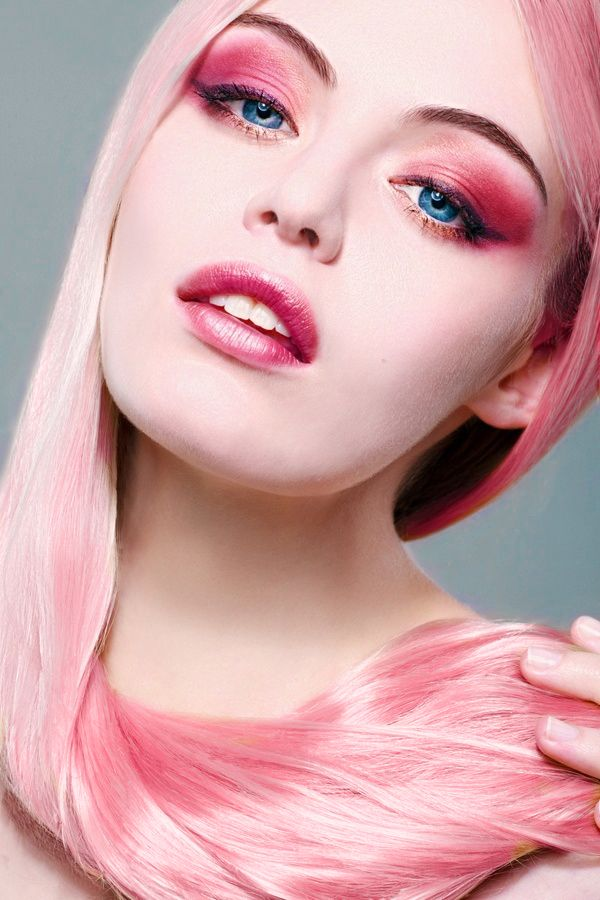 Color Hair Blossom Blonde Cherry