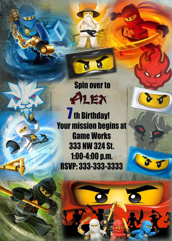 Birthday Invitations Homemade
