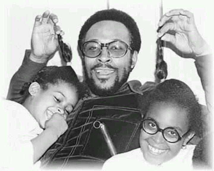 Marvin Gaye & his 2 girls | Mai Style: La Familia ...