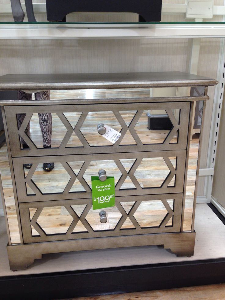 Home Goods Mirrored Furniture