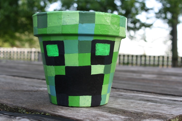 Flower Coloring Page Minecraft