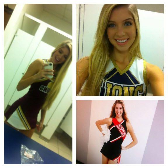 Alexandria Deberry Cheerleader