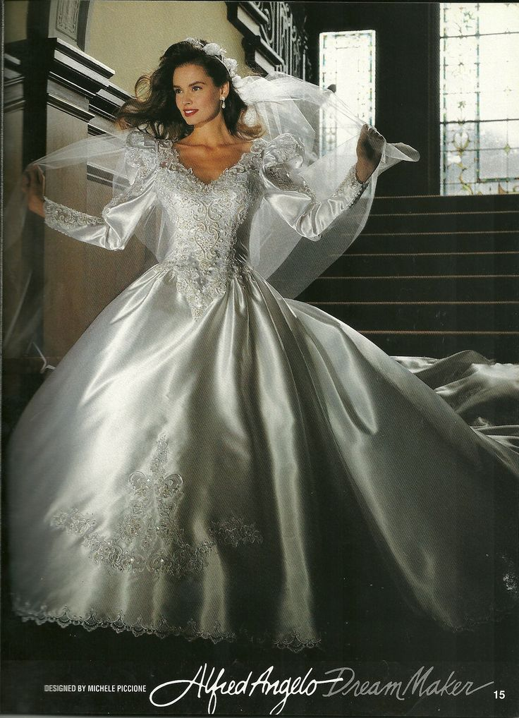 Wedding Dress Alfred Angelo Dream Maker 1992