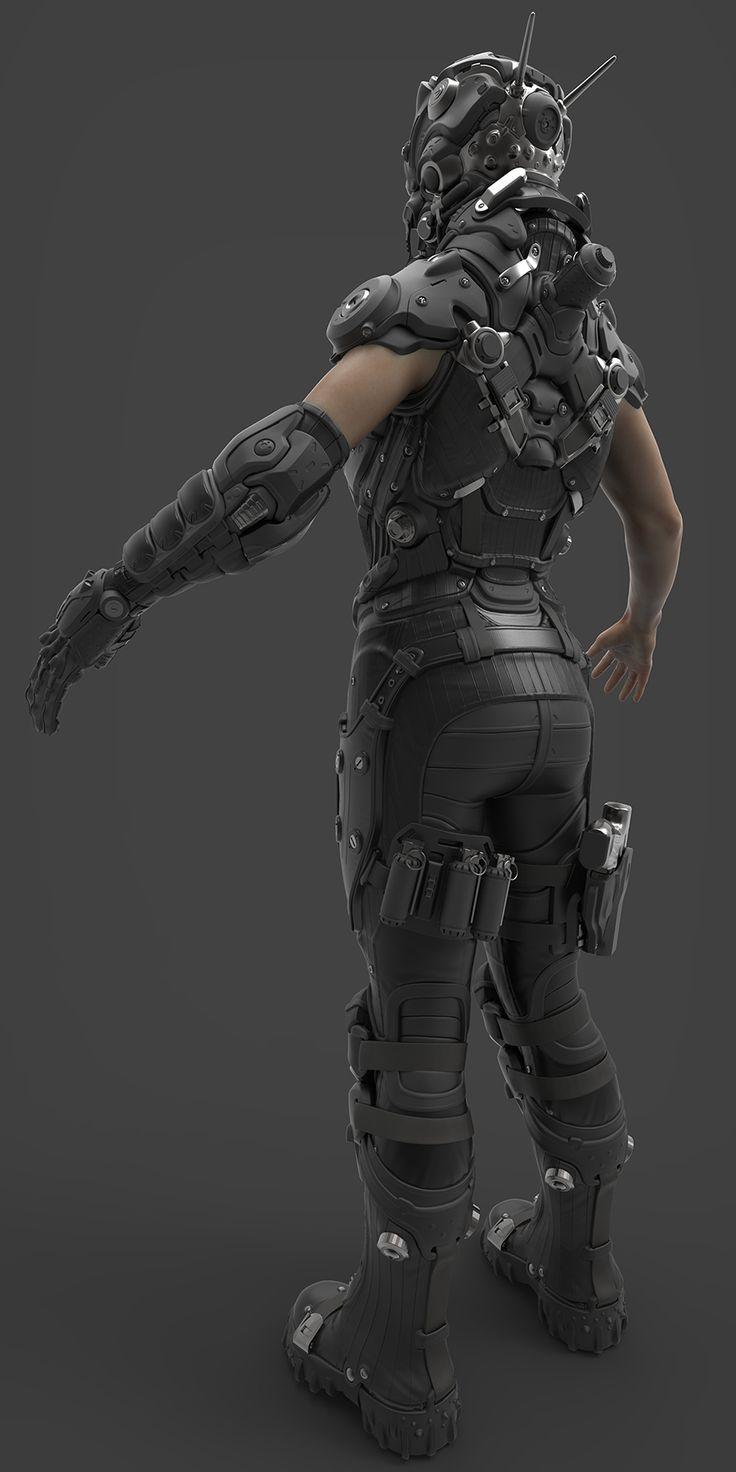 Broward County Female Body Armor