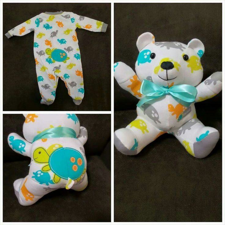 Baby Clothes Quilt Diy