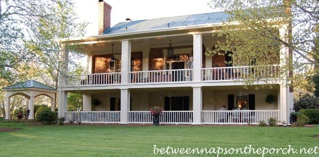 Two Story Porches Build A Porch Way Up High Porch