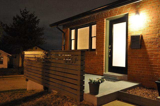 Modern Porch Railing